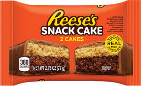 REESE'S SNACK CAKE -2 CAKES-