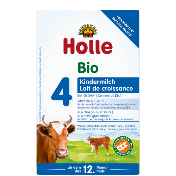 HOLLE INFANT COW MILK FORMULA 4 FROM 12 MONTHS -  600G BIO