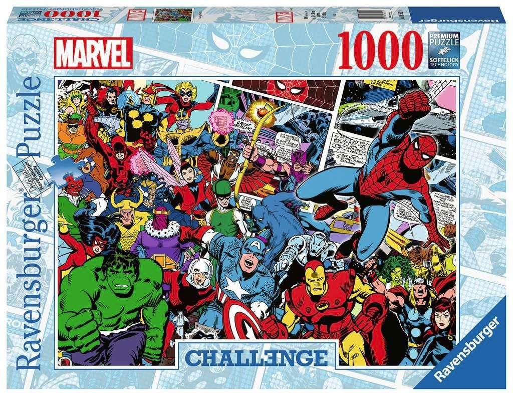 Marvel Challenge Jigsaw Puzzle Comics (1000 pieces)