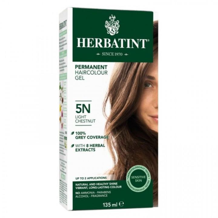 HERBATINT 5N LIGHT CHESTNUT HAIR COLOUR 135ML