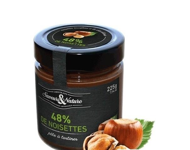 SAVEURS CHOCOLATE HAZELNUT SPREAD 225G BIO