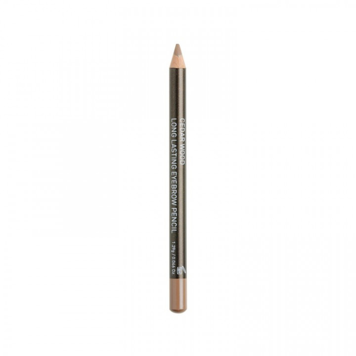 Korres CEDAR WOOD LONG-LASTING EYEBROW PENCIL - SHADE MEDIUM 02