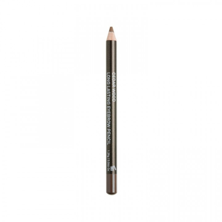 Korres CEDAR WOOD LONG-LASTING EYEBROW PENCIL - SHADE DARK 01