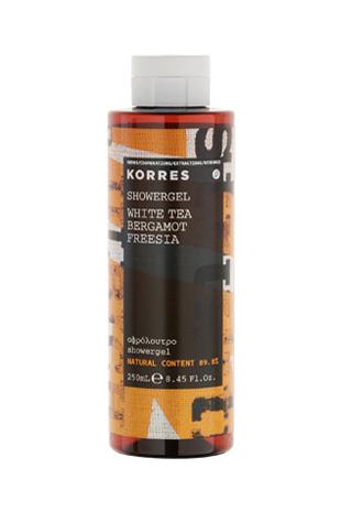 Korres WHITE TEA / BERGAMOT / FREESIA SHOWER GEL - 250ml