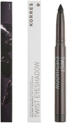Korres VOLCANIC MINERALS Twist Eye shadow - Shade METALLIC Black 98