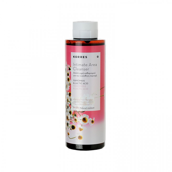 Korres INTIMATE AREA CLEANSER WITH CHAMOMILE AND LACTIC ACID - 250mL
