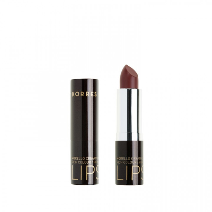 Korres Morello Creamy Lipstick - Natural Purple 23