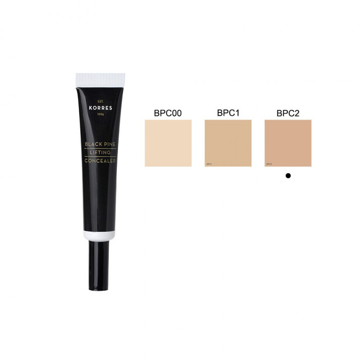Korres BLACK PINE LIFTING CONCEALER SHADE 02 - 10ML