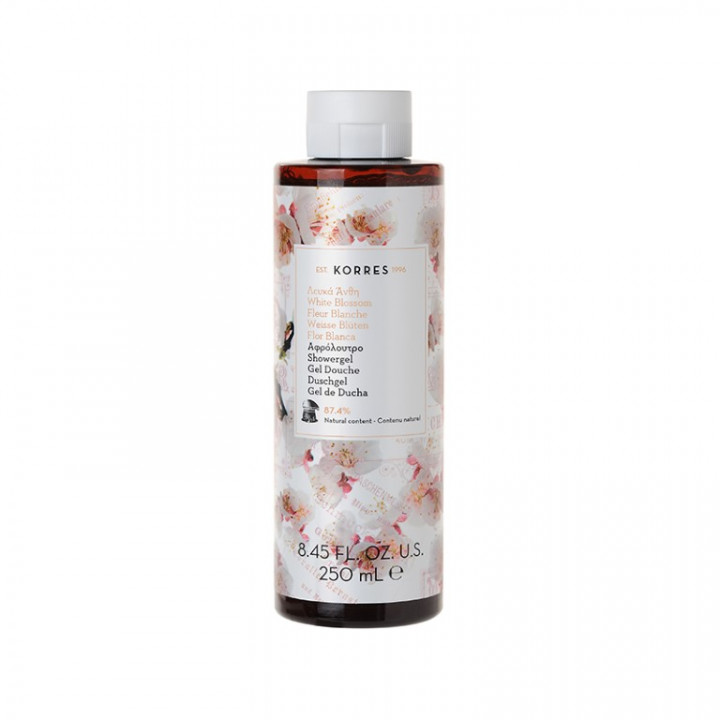 Korres WHITE BLOSSOM Shower Gel - 250mL