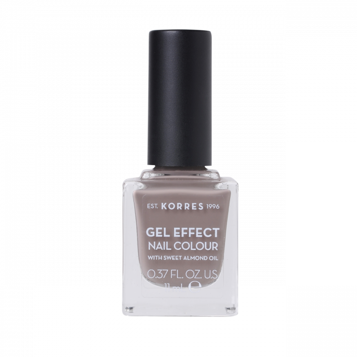Korres Gel Effect Nail Colour with Sweet Almond Oil - Shade STONE GREY 95 - 11ML