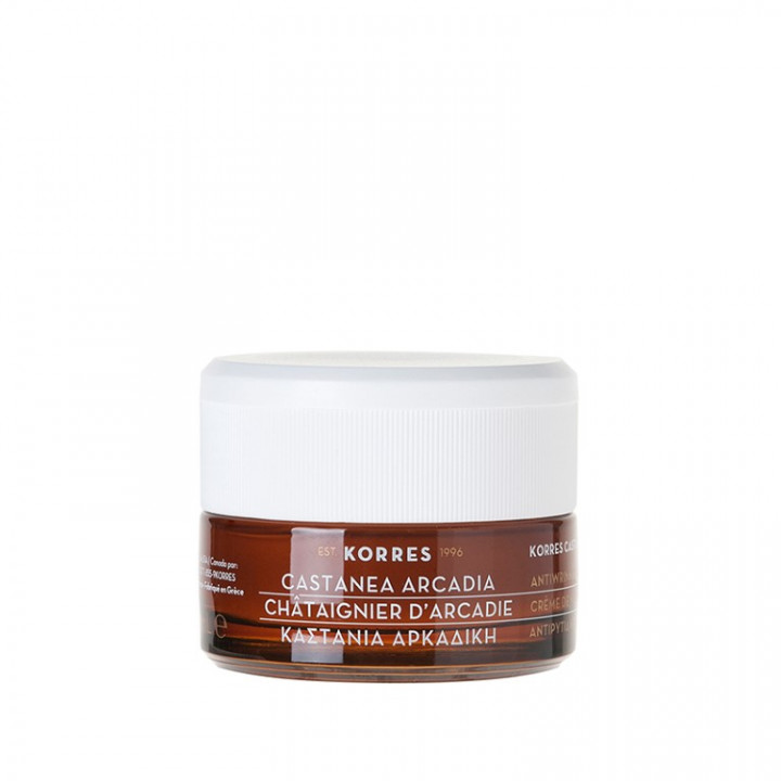 Korres CASTANEA ARCADIA DAY CREAM FOR DRY / VERY DRY SKIN - 40ML
