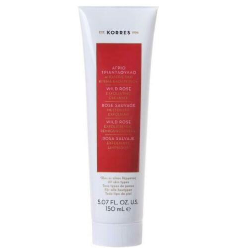 Korres WILD ROSE EXFOLIATING CLEANSER - 150ML