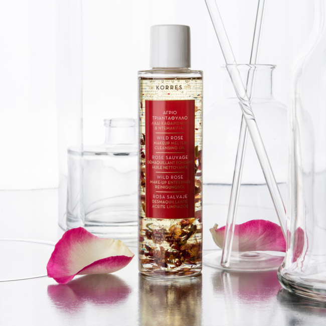 KORRES WILD ROSE Makeup Cleansing Oil - 150ml
