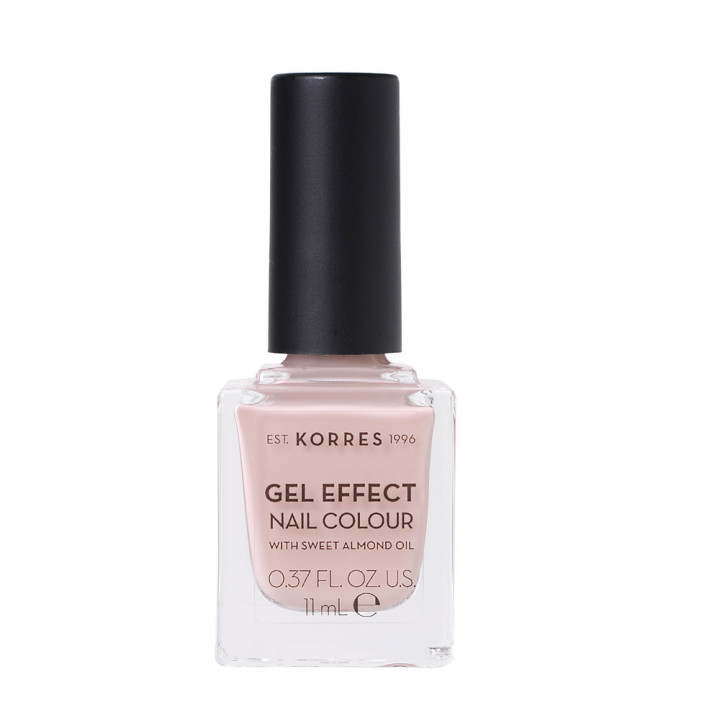 Korres Gel Effect Nail Colour with Sweet Almond Oil - Shade COCO SAND 32 - 11ML