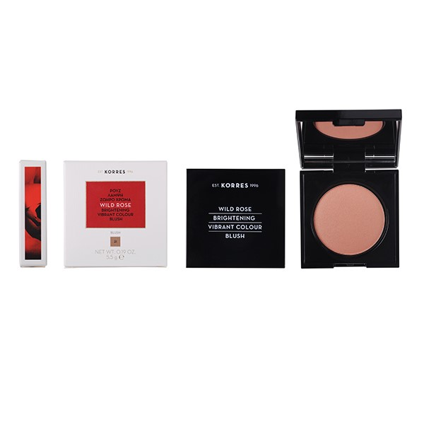 Korres Wild Rose Brightening Blush LIGHT Bronze Shade 31 - 5.5g