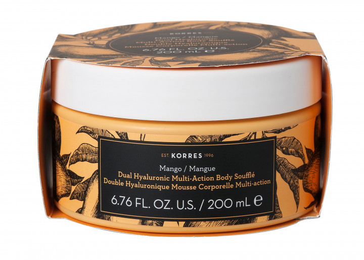 Korres MANGO Dual Hyaluronic Multi-Action Body Soufflé - 200ML