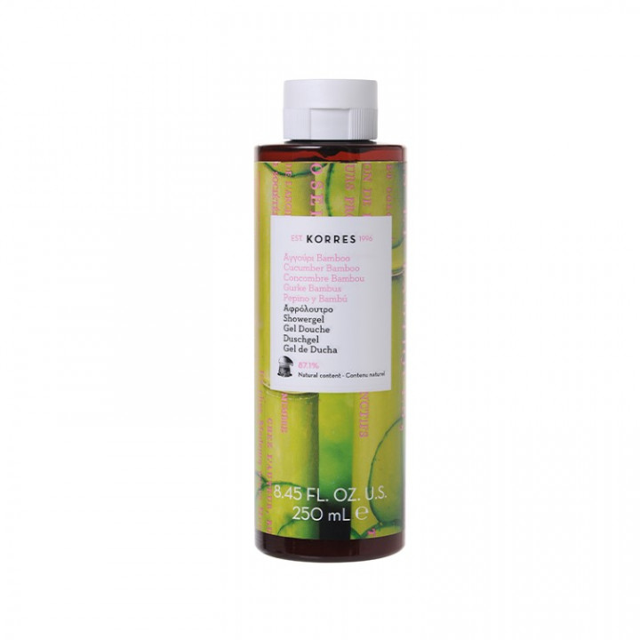 Korres CUCUMBER BAMBOO Shower Gel - 250ML