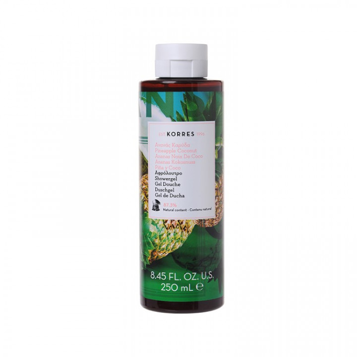 Korres Pineapple Coconut Shower Gel - 250ml