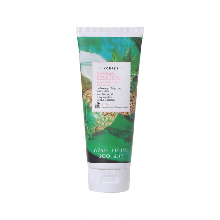 Korres Pineapple Coconut Body Milk -  200ml