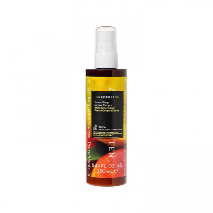 Korres GUAVA MANGO Body Butter Spray - 250ML