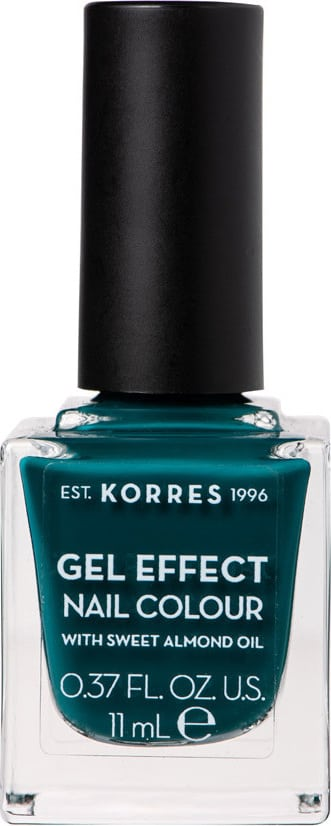Korres Gel Effect Nail Colour with Sweet Almond Oil - Shade CYPRESS 88 - 11ml