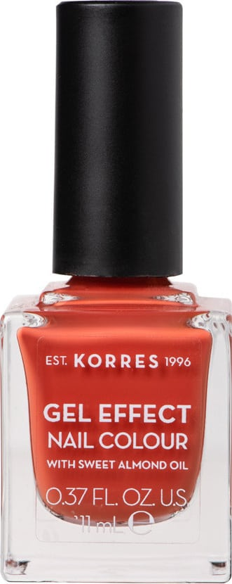 Korres Gel Effect Nail Colour with Sweet Almond Oil - Shade PUMPKIN SPICE 50 - 11ml