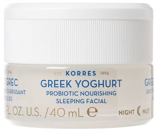 Korres Greek Yoghurt probiotic nourishing sleeping facial cream - 40ML