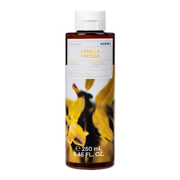 Korres VANILLA FREESIA Shower Gel - 250ML