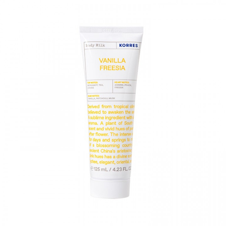 Korres VANILLA FREESIA BODY MILK - 125ML