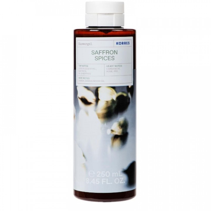 Korres Saffron Spices Shower Gel - 250ml