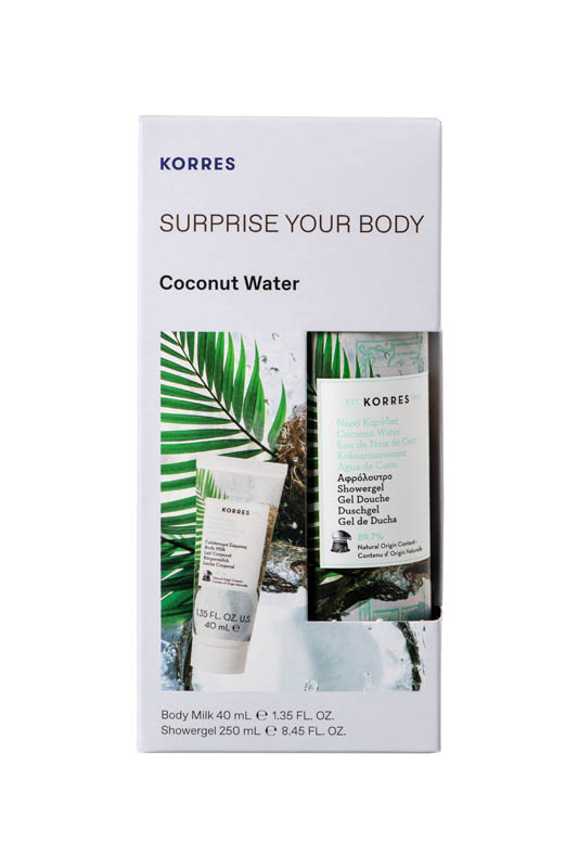 Korres SURPRISE YOUR BODY COCONUT WATER MIXED SET