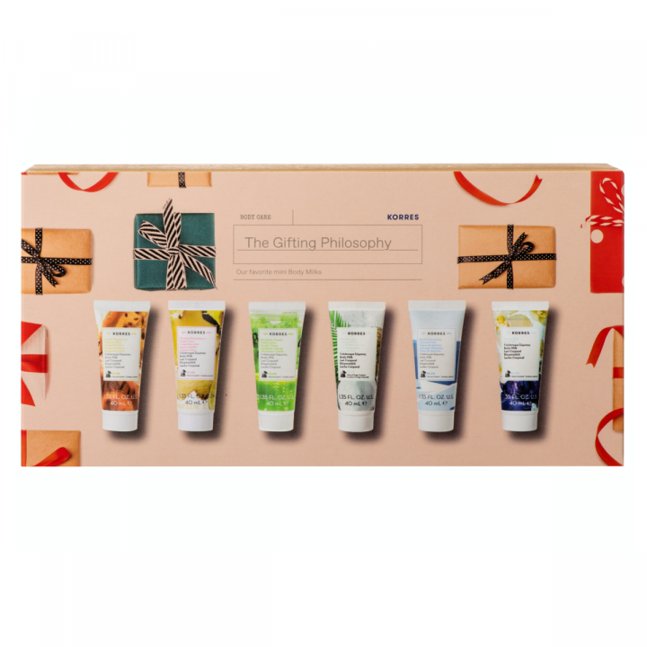 Korres GIFTING PHILOSOPHY MINI BODY MILKS SET