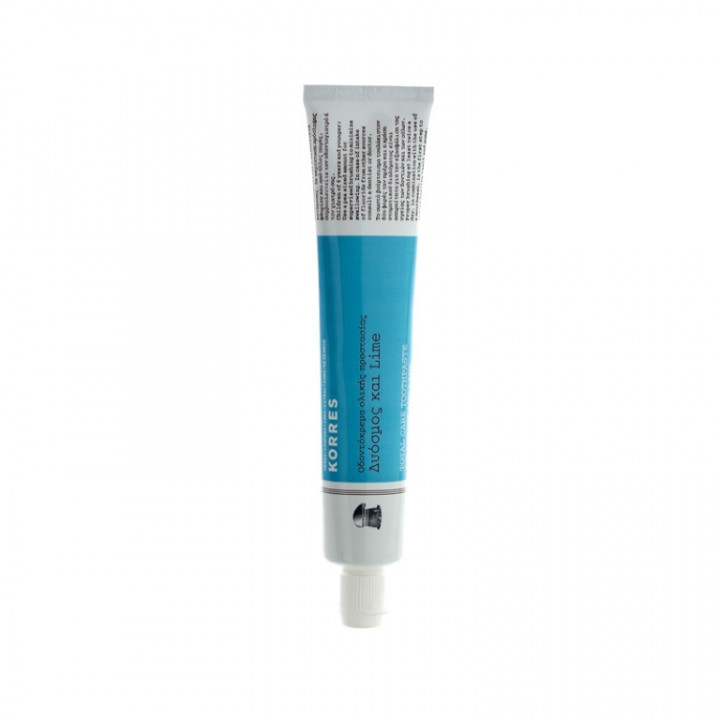 Korres TOTAL CARE TOOTHPASTE SPEARMINT & LIME 75ML