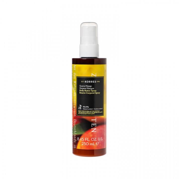 Korres GUAVA MANGO Body Butter Spray 250ML