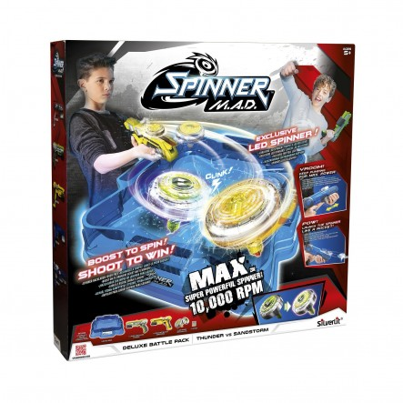 Silverlit Spinner M.A.D Deluxe Battle Pack: Thunder Vs Sandstorm