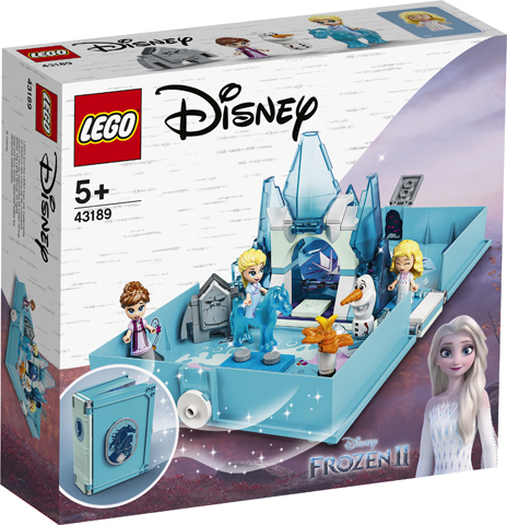 LEGO DISNEY ELSA AND THE NOKK STORYBOOK