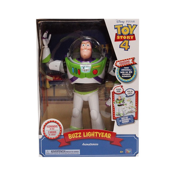 TOY STORY 4 BUZZ LIGHTYEAR WITH INTERACTIVE DROP DOWN ACTION