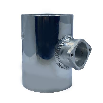 Alluminium Adapter for MAF - Silver Small