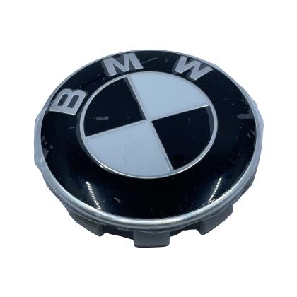 BMW Wheel Center Caps set of 4 - basic black Small