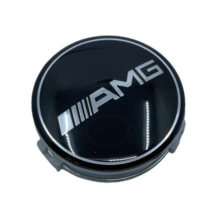 Mercedes Wheel Center Caps set of 4 - AMG Small