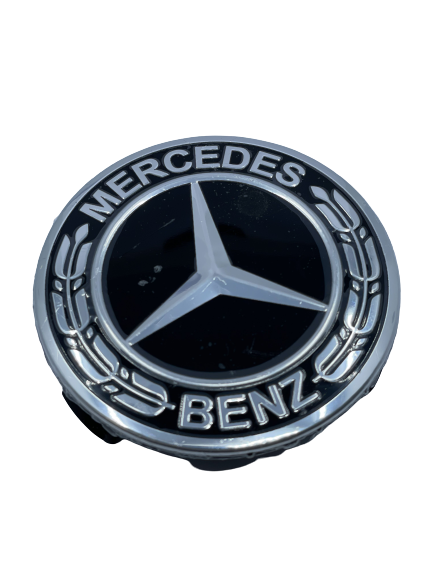 Mercedes Wheel Center Caps set of 4 - Benz Small