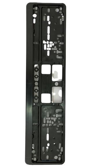 Number Plate Frames - Black Medium