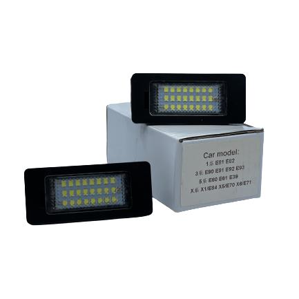 Number Plates LED Lights For BMW - E81, E82, E90, E91, E92, E93, E60, E62, E39, X1/ E84, X5/E70, X6E71 Small