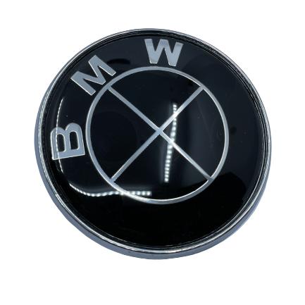 BMW Logo rear - black Small