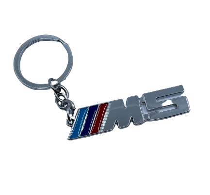 BMW M5 Keyring - silver Small