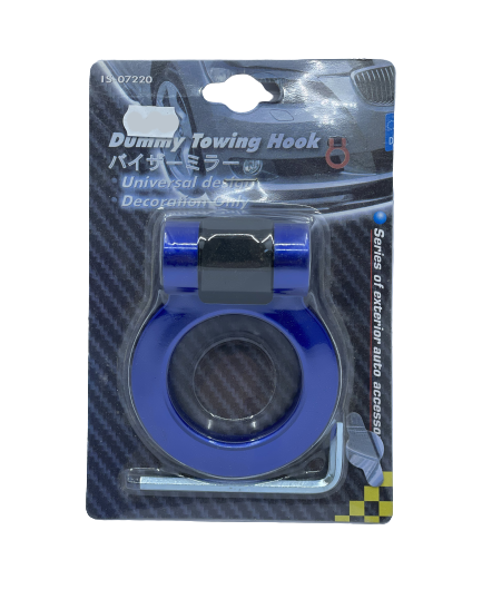 Universal Dummy Towing Hook - Blue Small