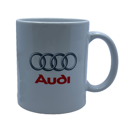 Mugs - AUDI WHITE
