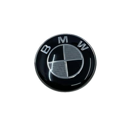 BMW STEARING WHEEL BADGE - BMW CARBON