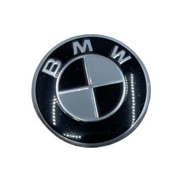 BMW STEARING WHEEL BADGE - BMW BASIC BLACK