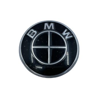 BMW STEARING WHEEL BADGE - BMW BLACK